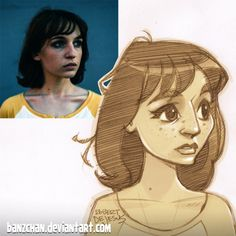 American artist Robert DeJesus continues to transform strangers' photos into anime versions of themselves and we thought it's high time to look at his new works Foto Cartoon, Photo To Cartoon, Cartoon Art, Cartoon Sketches, Art Sketches, Art Drawings, Persona Anime, Art Du Croquis, Art Mignon