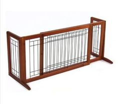 Best Dog Gates For The House Free Standing Adjustable Indoor Solid Wood
