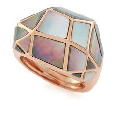 Daniel Darby Jewellery Mini Shell Studs Black 71 liked on