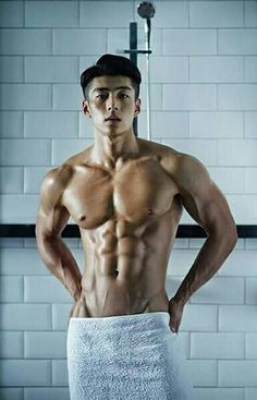 Muscle asian boy dildo sooo beautiful