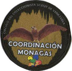 Circulo del Coleccionista Scout de Venezuela. Coordinación Monagas.  Diseñada por: Johanna Diaz