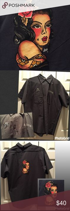 NWOT Sailor Jerry® XL Gray Short Sleeve Button ⬇️ NWOT Sailor Jerry® XL Gray Short Sleeve Button Down Shirt  This is NWOT Collectible shirt and has not been worn.  Thought someone else can enjoy and makes a great present. Sailor Jerry® Shirts Casual Button Down Shirts