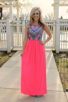 Island Hopper Maxi Dress - $43.99