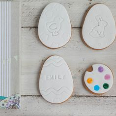 Hoppy easter biscuit gift set bunny biscuits easter cookies easter egg biscuit gift set large paint your own cookie set easter gifts for kids easter presents decorate your own cookies negle Gallery