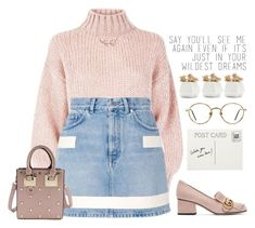 """""""Would you wear?"""" by outfitreport on Polyvore featuring Givenchy, Gucci and GlassesUSA"""