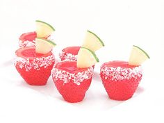10 Jello Shots Worth the Hangover...can't wait to make the strawberry margaritas!