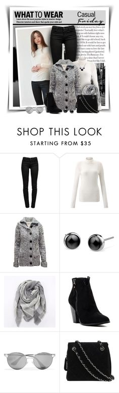 """""""Casual Friday"""" by diva1023 ❤ liked on Polyvore featuring J Brand, Miss Selfridge, Everest, Bucco, Prada and Chanel"""