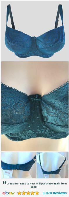 Panache Olivia Balconnet bra 32FF Deep Jade   | eBay http://www.ebay.com/itm/Panache-Olivia-Balconnet-bra-32FF-Deep-Jade-/142316655830?ssPageName=STRK:MESE:IT