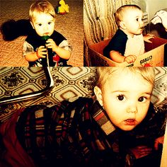 Justin Bieber as baby