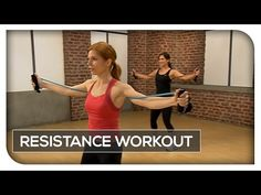 Resistance Band Workout - 45 Min Total Body - YouTube