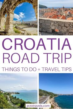 Planning a Croatia road trip? Find out about the best places to visit & things to do plus many road trip travel tips for a road trip in Croatia. European Road Trip, Road Trip Europe, Europe Travel Guide, European Travel, Visit Croatia, Croatia Travel, Italy Travel, Family Road Trips, Family Travel