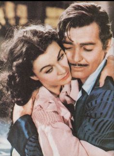 Awwww Scarlett O'Hara & Rhett Butler