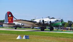 Although delivered too late to see action in World War II, EAA's B-17 has an interesting history that began with its first owner purchasing it as surplus from the military inventory for a mere $750 in 1946, filled with gas worth more than the aircraft. Since then it has served as a cargo hauler, an aerial mapping platform and in pest control and forest dusting applications. Photo:  Maureen Spuhler