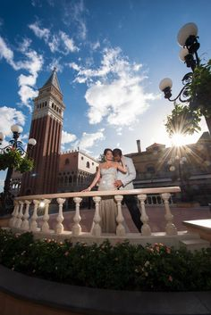 Experience the romance and beauty of the Italy Pavilion in Epcot. Photo: Amanda, Disney Fine Art Photography