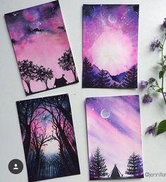 grafika art, drawing, and purple Galaxy Painting, Galaxy Art, Arte Sketchbook, Pastel Art, Diy Art, Art Inspo, Painting & Drawing, Body Painting, Amazing Art
