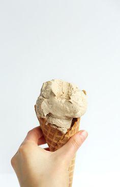 Creamy Spicy Chai Ice Cream