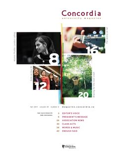 A potential use of the colour bars for the alumni magazine contents page Food Magazine Layout, Magazine Layout Design, Magazine Contents, Magazine Design Inspiration, Graphic Design Inspiration, Table Of Contents Design, Yearbook Layouts, Cube Design, Publication Design