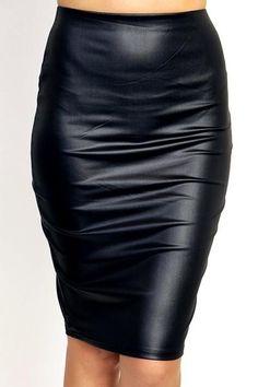 Natasha Leather Skirt – Lavish & Luxe Boutique