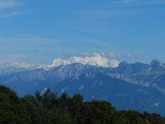 Vu Mont Blanc (St Sigismond)
