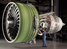 The GE90-115B holds the world record for thrust totalling 127,900 pounds of thrust.