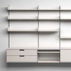 Good design is environmentally-friendly. 606 Universal Shelving System, 1960, by Dieter Rams for Vitsœ.