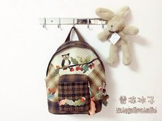 Owl Backpack, Beautiful Bags, Lunch Box, Backpacks, Quilts, Sewing, Blog, Diy, Scrappy Quilts