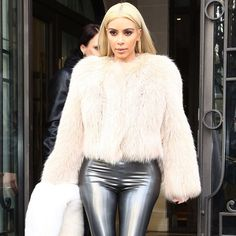 Cream Mink Coat as Seen on Kim Kardashian! Cream Vintage Mink Coat  Size M  New Condition                                          Originally $1500 your getting this for a steal!   $50 off when you use Merc                       Open to offers Nordstrom Jackets & Coats