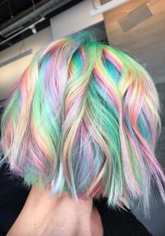 Awesome Rainbow Hair Colors for Short Hair in 2018 Ideas Hair Trends 2018 Color Blue Hair Color Blue Purple Ombre Blondes Ideas 35 Ideen für blaue und lila Haarfarben – Blaue und lila Haarfarbe Ideen – 20 Dip Dye Hair Ideen – Freude … Hidden Rainbow Hair, Pastel Rainbow Hair, Short Rainbow Hair, Short Pastel Hair, Pastel Ombre Hair, Rainbow Hair Colors, Colorful Hair, Hidden Hair Color, Cool Hair Color