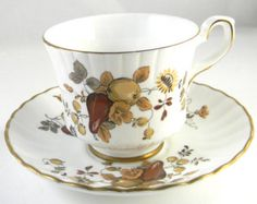 Vintage Tea cup and saucer, Royal Stafford fine bone china, made in England