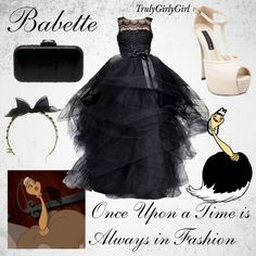 Disney Style: Babette, created by trulygirlygirl on Polyvore