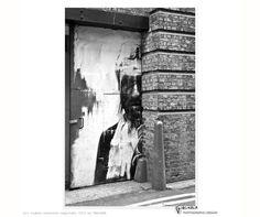 streetart interpretation, London street photography 'Door Portrait' by PASiNGA
