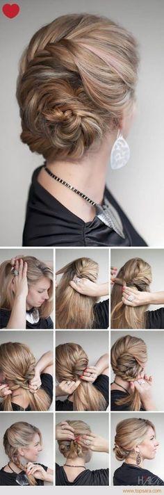 LINK >>15 Penteados Realmente Fáceis para Mulheres Normais que Não Sabem Fazer Penteados hahaha #penteado #hair #updo #beauty