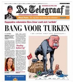 From the Netherlands. By Eric Van der Wal. On Erdogan.