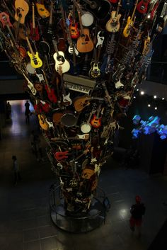 EMP Museum - located next to the Space Needle