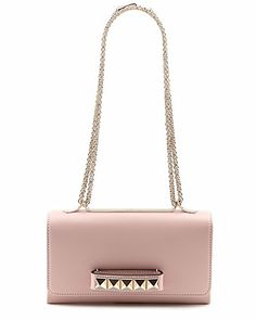 "Valentino ""Va Va Voom"" Large Leather Shoulder Bag"