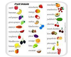 A Drive-elem indexkép-előnézete Food Spot, English Fun, Green Grapes, Sweet Cherries, Preschool Activities, English Activities, Grapefruit, Watermelon, Blueberry