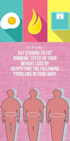 Fat Storing to Fat Burning: Speed Up Your Weight loss By Identifying The Following Problems In Your Body