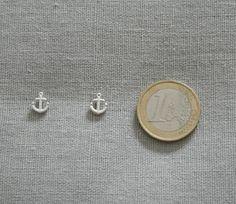 Make a wish silver plated tiny anchor by PinkiwingkiHandmade, $12.00