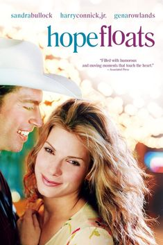 Hope Floats Sandra Bullock, Harry Connick Jr, Gena Rowlands, Michael Pare and a very young Mae Whitman - directed by Forest Whitaker Beau Film, Sandra Bullock, Old Movies, Great Movies, Love Movie, Movie Tv, Movie List, Best Romantic Movies, Gena Rowlands