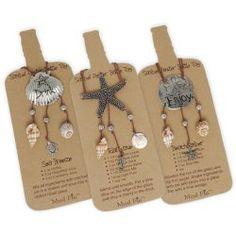 Mud Pie Shell Bottle Tags, #WhimsicalUmbrella #Kitchen  whimsicalumbrella.com