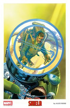 """SDCC Exclusive FIRST LOOK all new 11""""x17"""" Signed Limited Print from Alex Ross featuring the Nick Fury of S.H.I.E.L.D., available at the 2015 Comic-Con"""