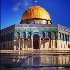 Dome of Rock , palestine