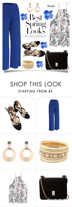 """""""Rosegal"""" by amra-mak ❤ liked on Polyvore featuring H&M, Valentino and rosegal"""