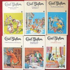 """I so want to read this books, because I've read them in german and always wondered why they all have german names and the story takes place in germany though the writer is english. So I looked it up on the web and found out, that their real names aren't """"Hanni und Nanni"""" but Pat and Isabel. I've been lied to my whole lifetime and I didn't even notice! And on top, while there are six original seguels actually written by Enid Blyton, there are more than 20 in german!"""