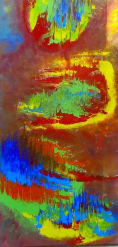 Giannis Petrou abstract expressionism floga