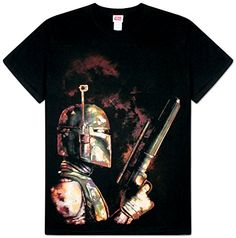 Star Wars  The Bounty Hunter TShirt Size M * You can find out more details at the link of the image.