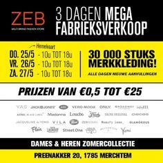 ZEB fabrieksverkoop Merchtem -- Merchtem -- 25/05-27/05