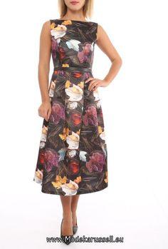 Blumen Motiv Kleid Kate