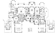 Nice Mansion Home Plans 6 House Floor. Nice. Home Plan And House ...