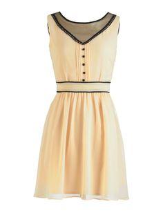 Girly: Vintage-Inspired Sleeveless Dress  - Seventeen.com